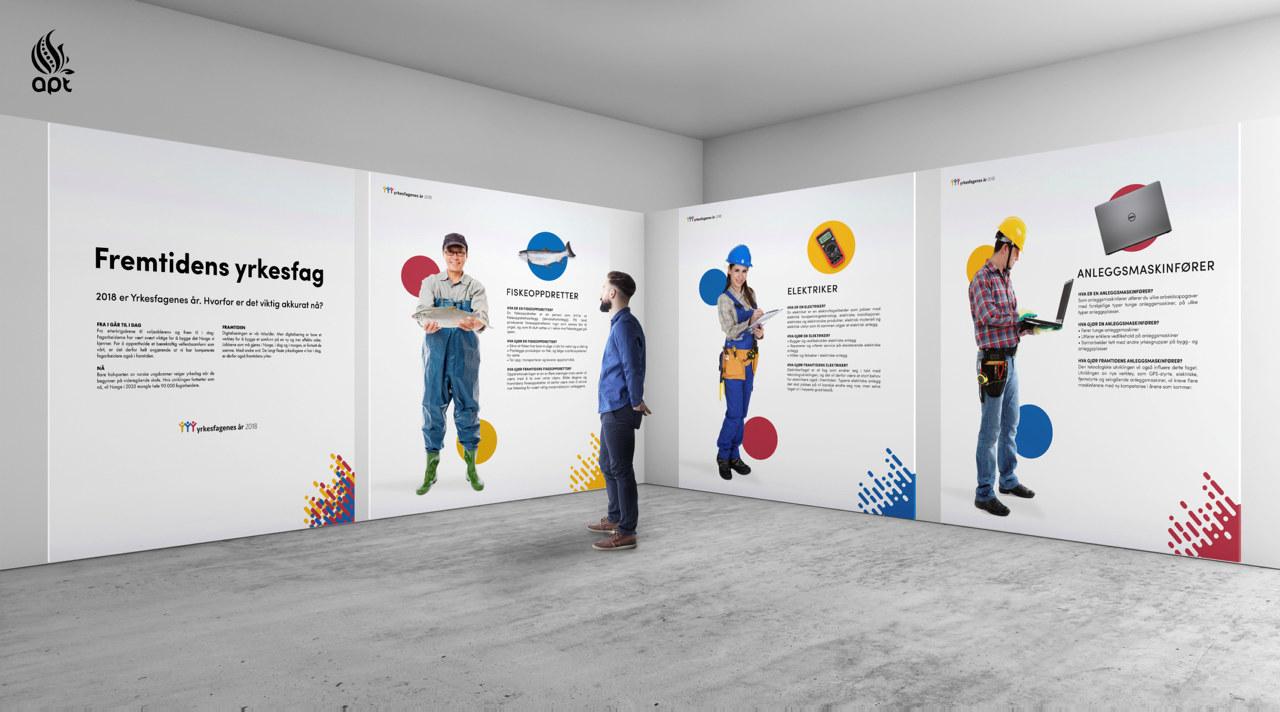 Utstilling om fremtidenes yrkesfag