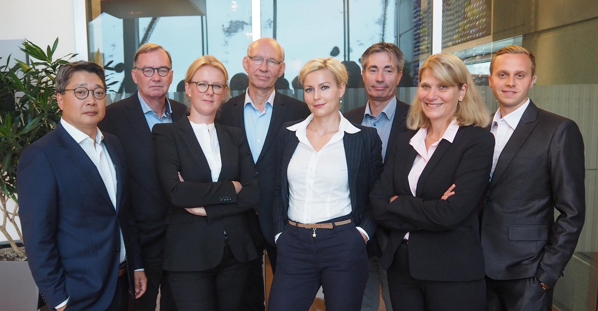 Ansatte i Norsk Industris juridiske avdeling.