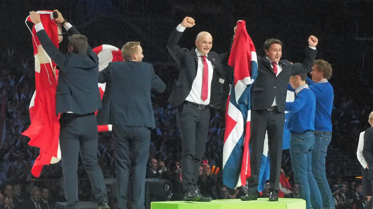 Gullet gikk til anleggsgartnerne Nils Karjetta fra Sandefjord og Kjetil Sigurd Marius Schwoch fra Åsgårdstrand