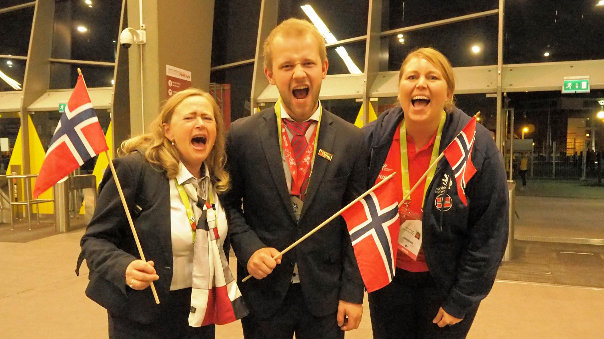 Sølv til sveiser Jon Arne Hjelmstadbakk fra Kværner