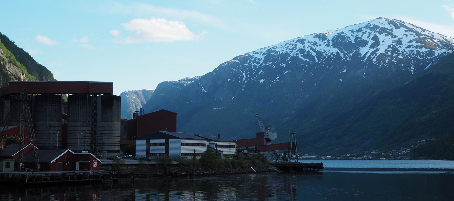 Fjord i Tyssedal