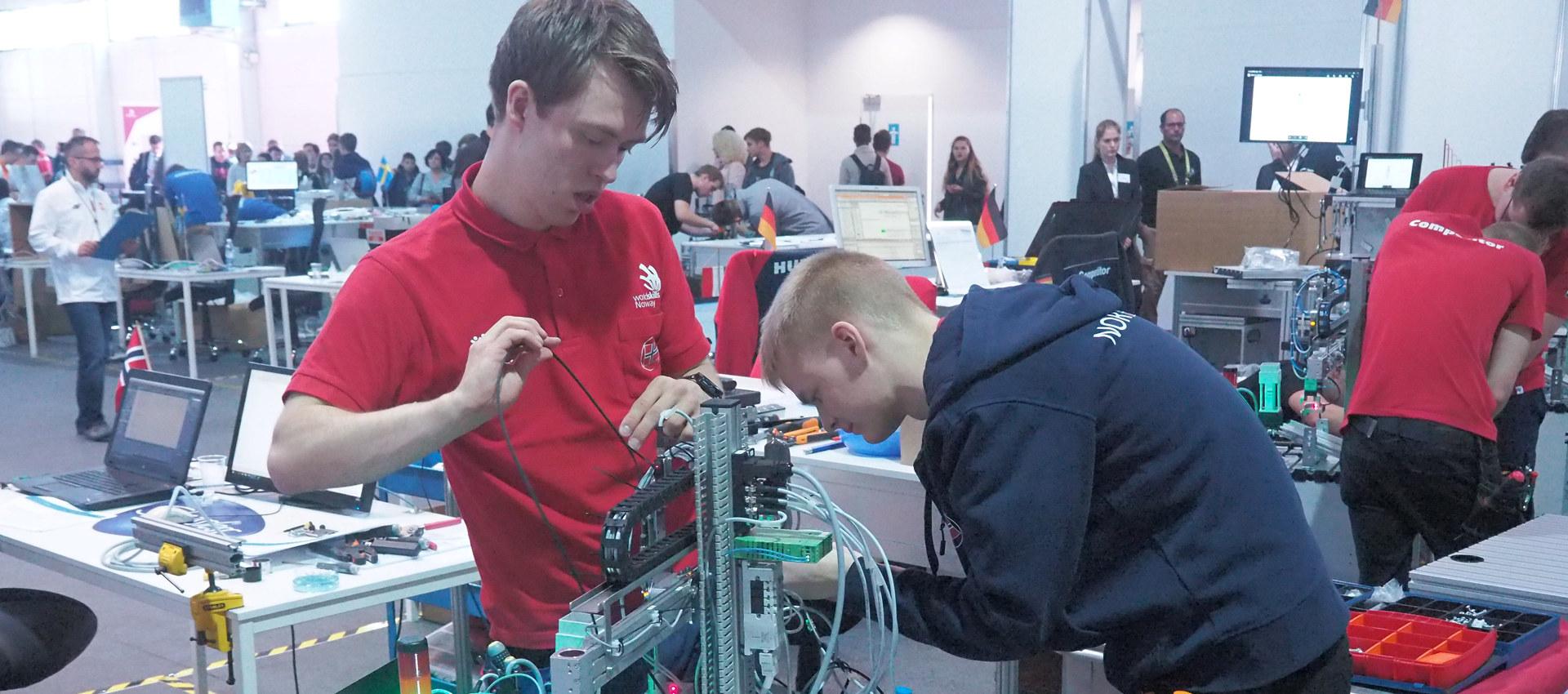 EuroSkills 2018, automatisering
