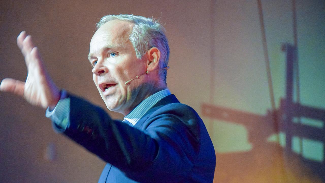 Kunnskapsminister Jan Tore Sanner åpnet yrkes-NM 2018.