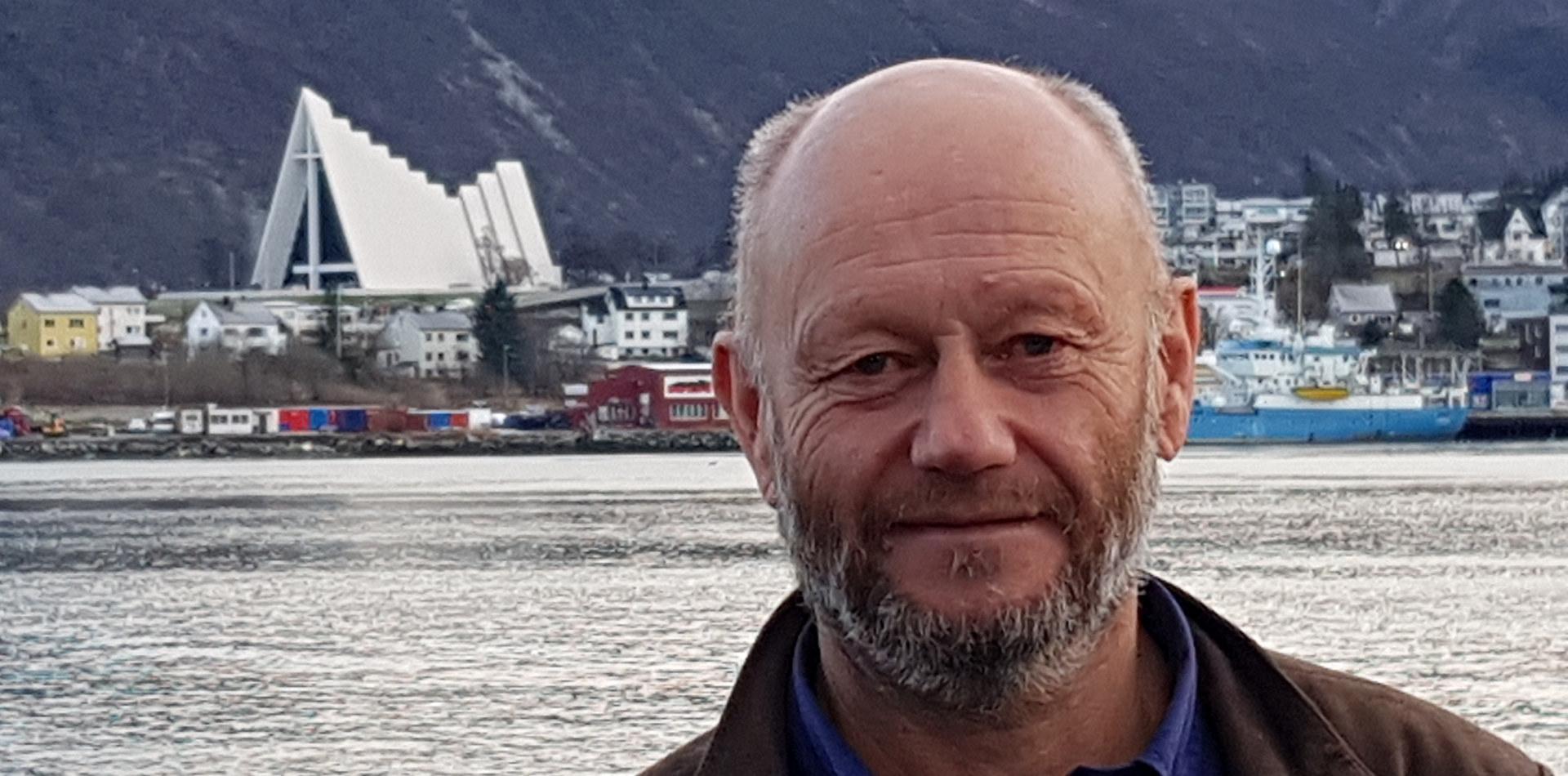 Stein Lier-Hansen i Tromsø.