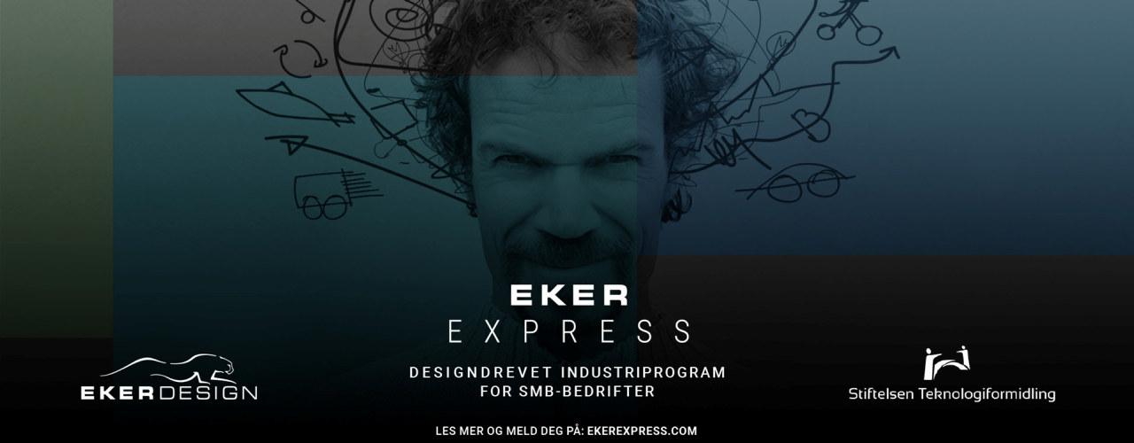 Web-banner fra Eker Express