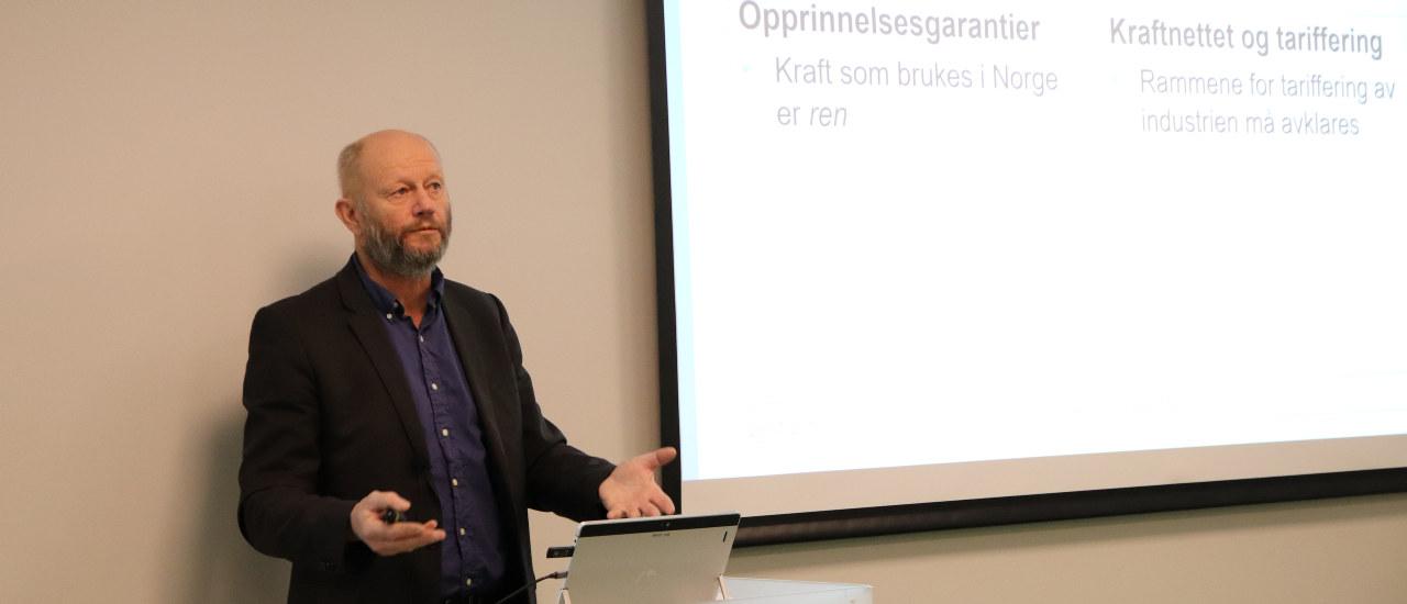 Lier-Hansen presenterer konkunkturrapporten