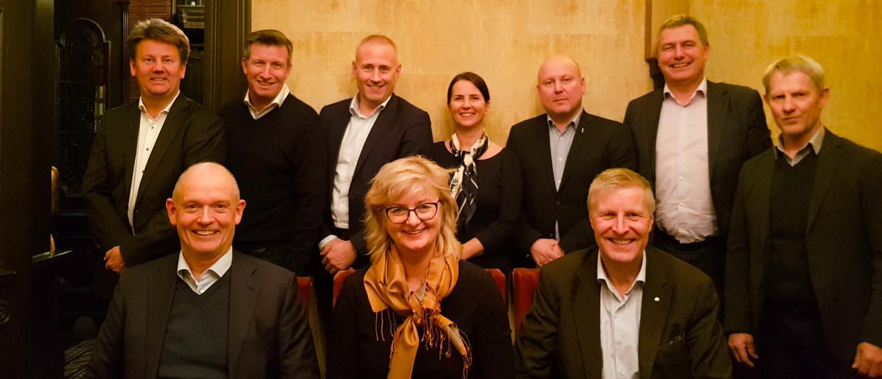 Bilde av styret i Norsk Industri Olje & Gass