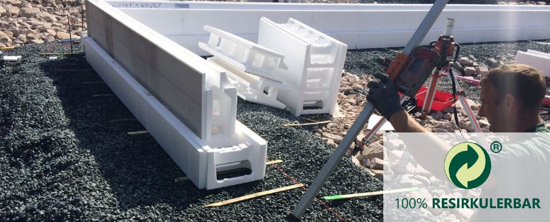 EPS brukt til å bygge grunnmur