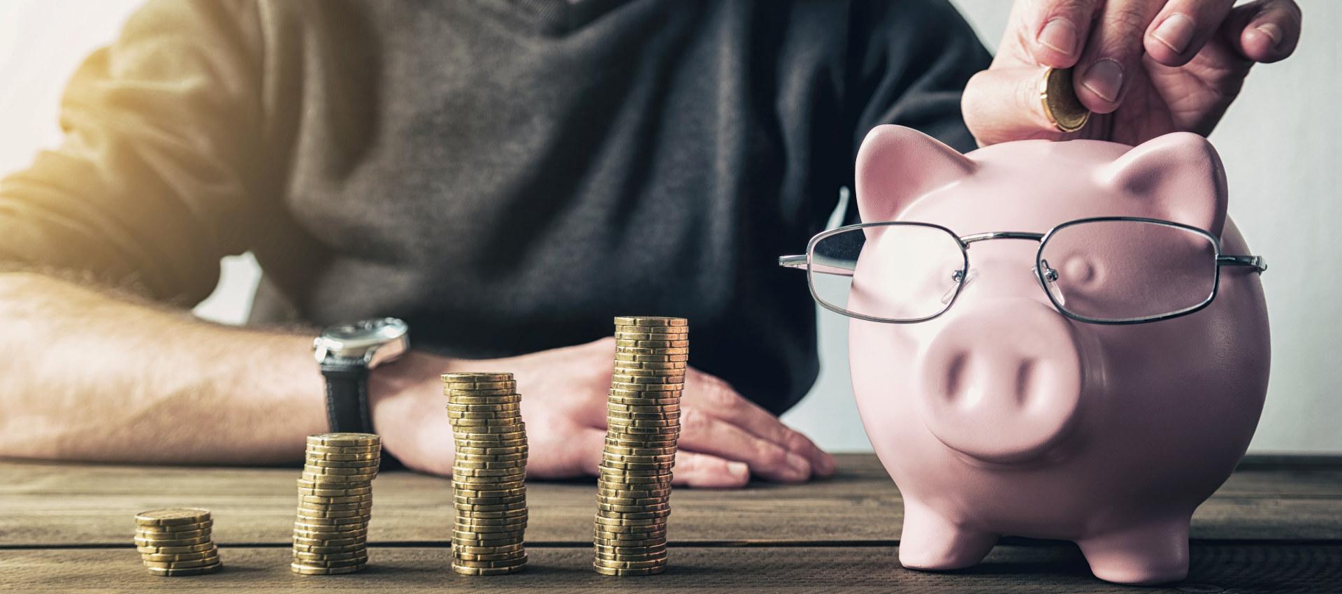 Sparing til pensjon