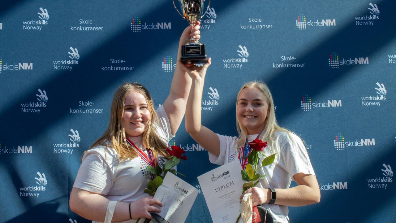 vinnerne i barne- og ungdomsarbeid Skole-NM 2019