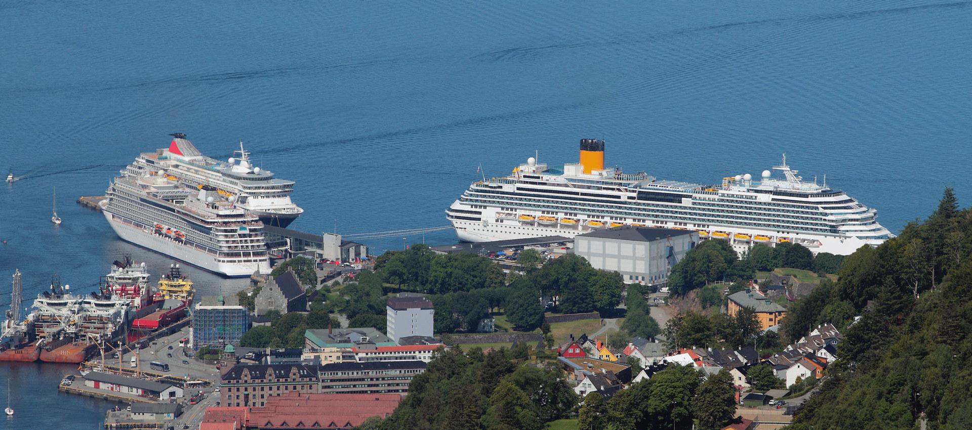 Cruisetrafikk i Bergen