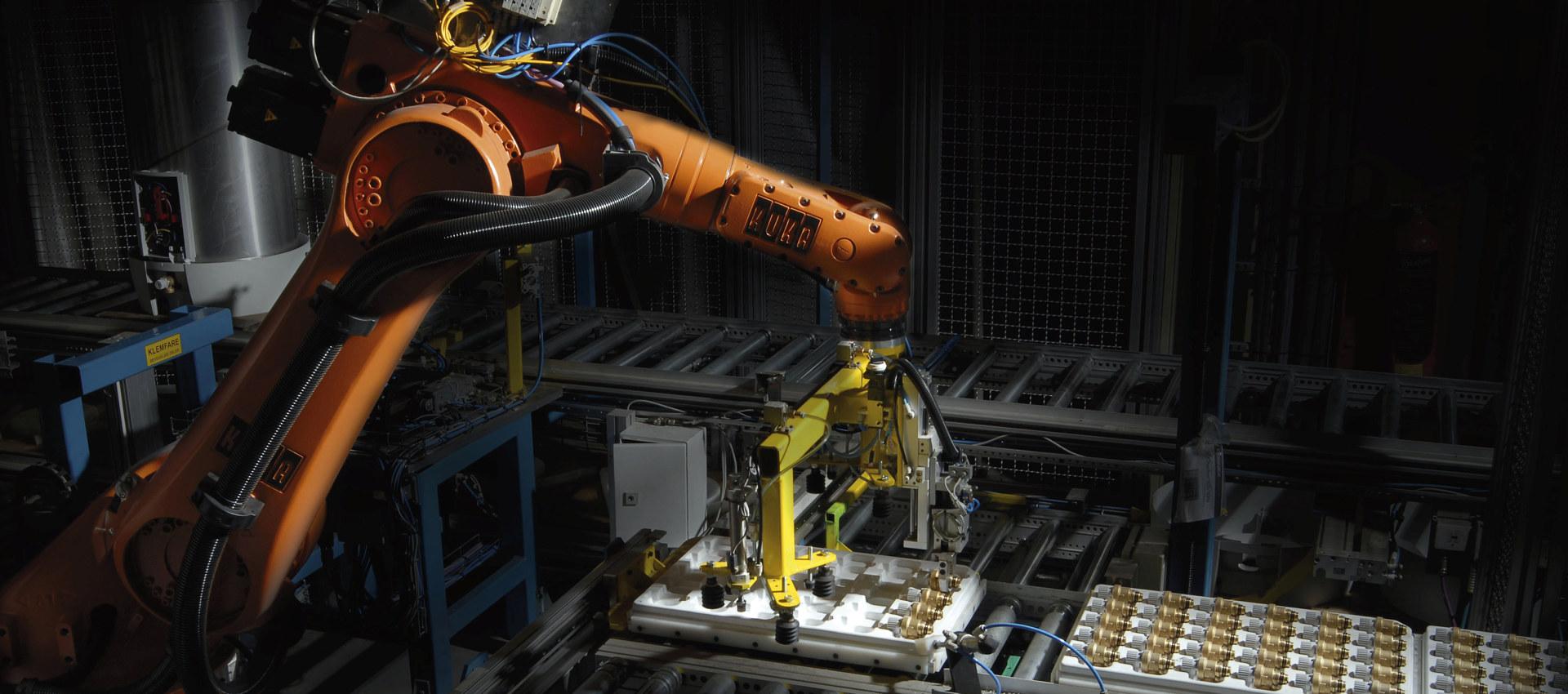 Robot hos OSO