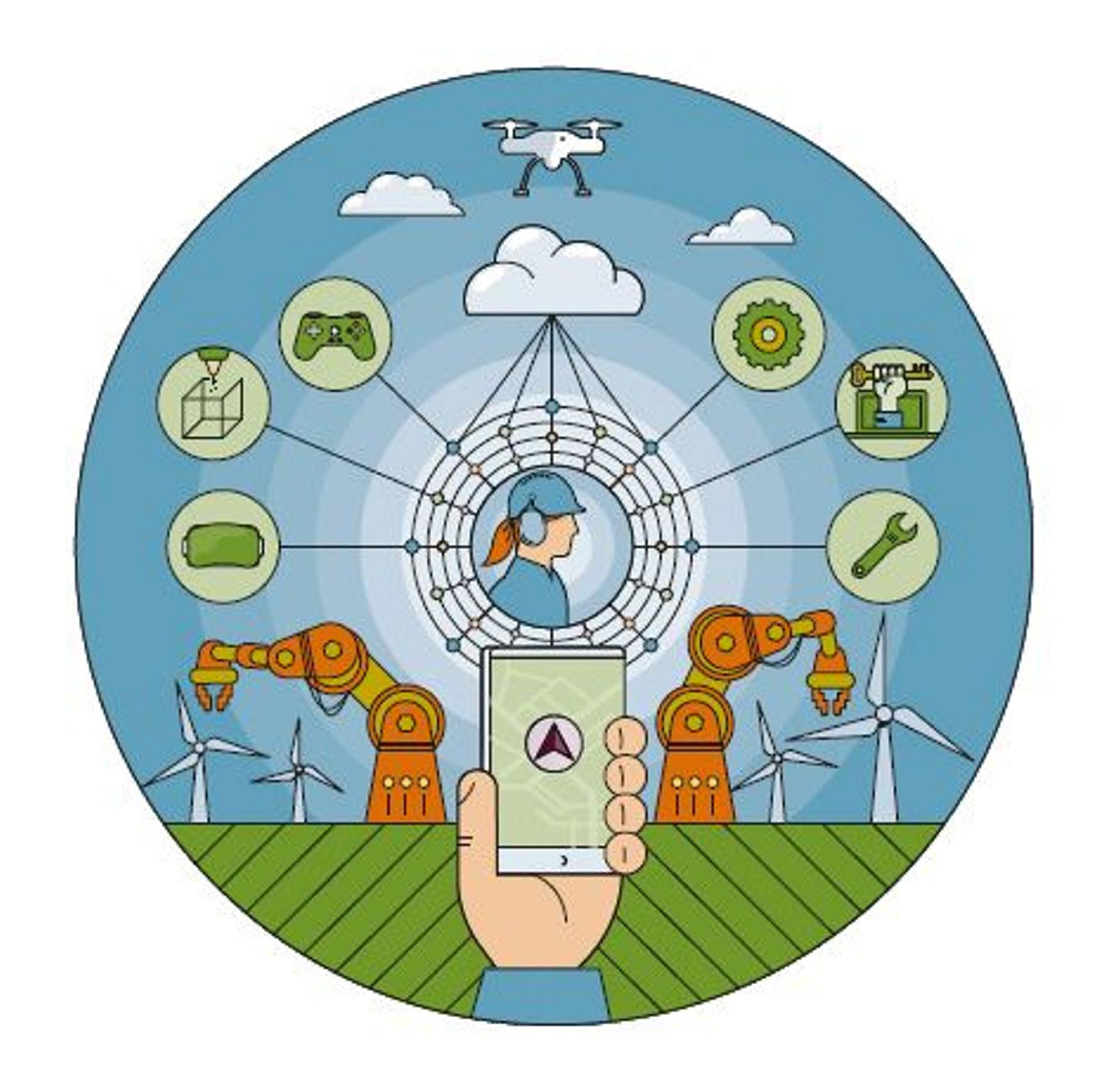 Forside på Veikart: Kompetanse for fremtidens industri.