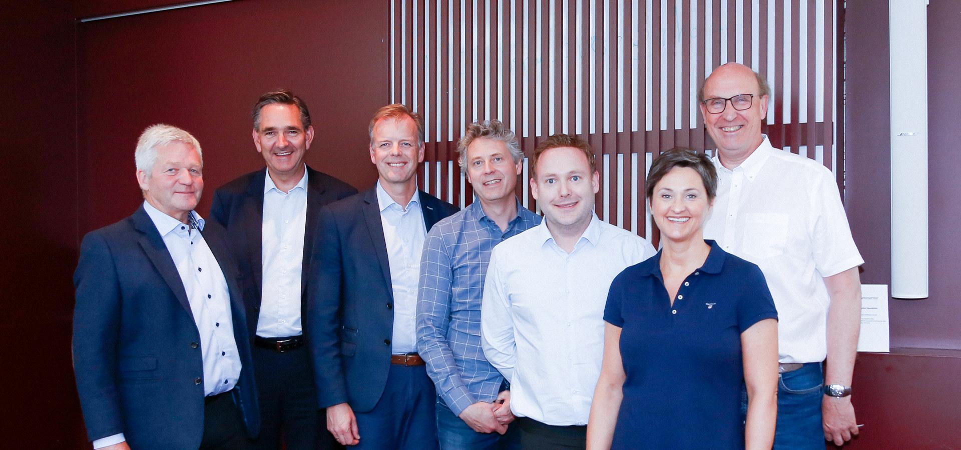 En gruppe med styremedlemmer