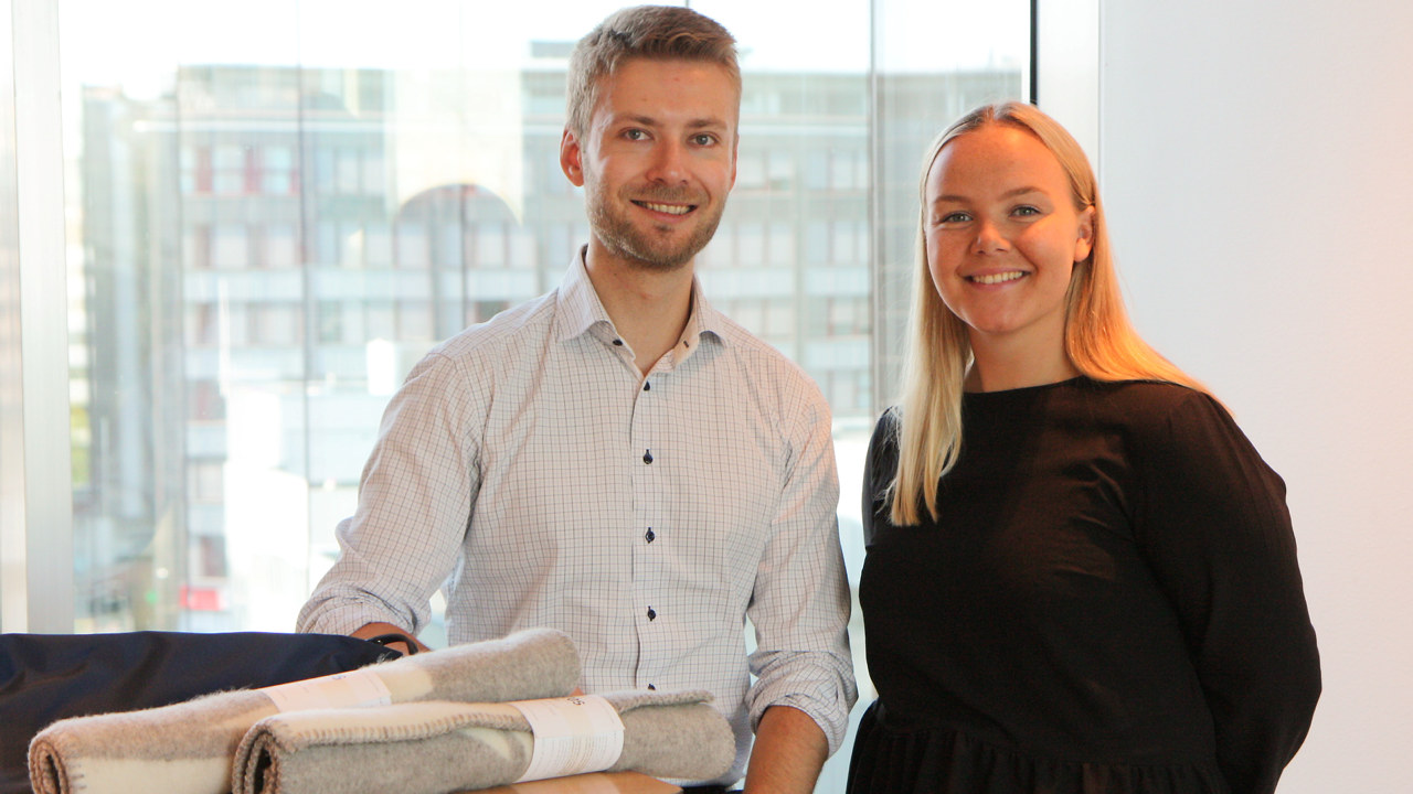 Marius Malmer, NHO og Nora Køber Garvoll, Norsk Industri