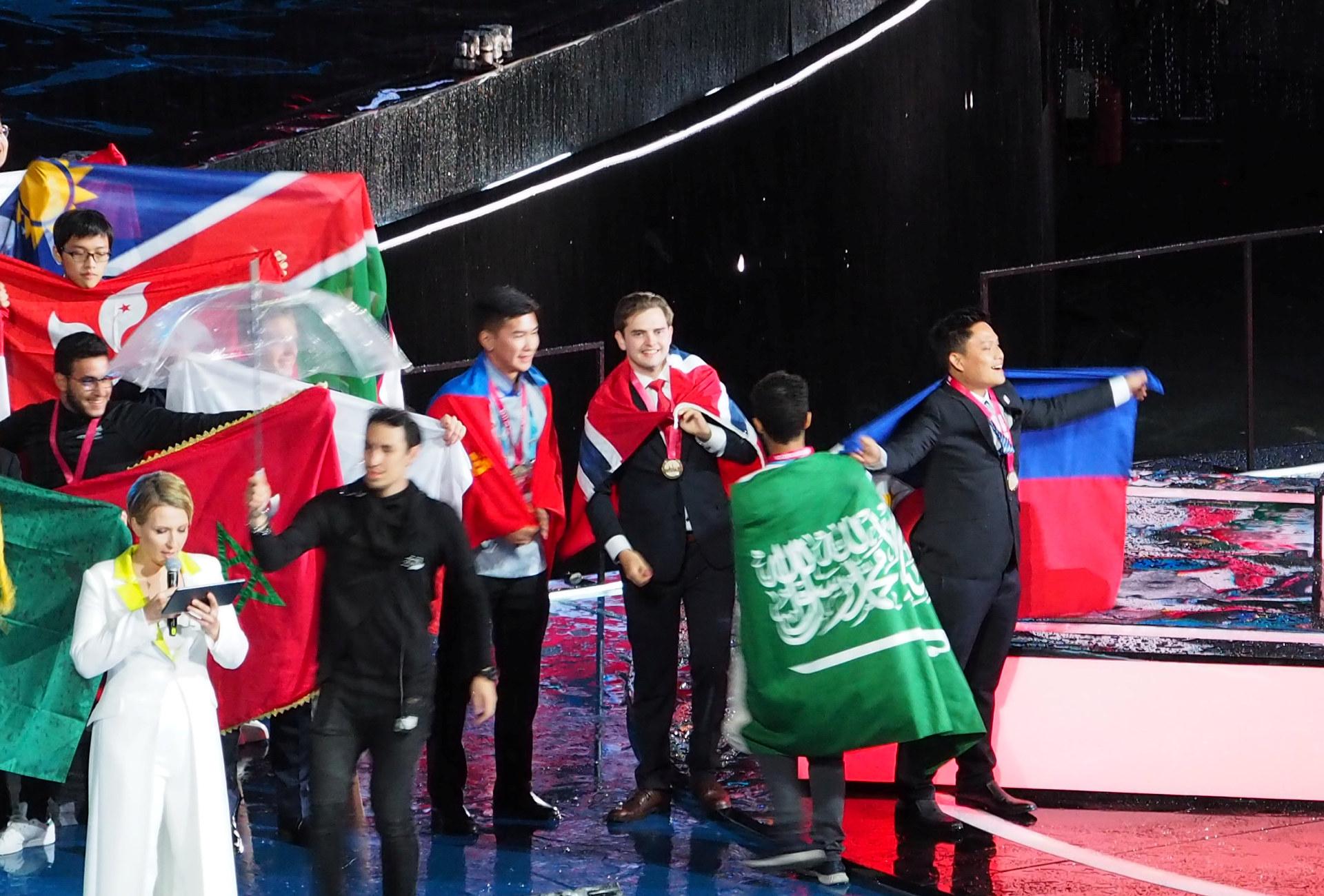 Elektriker Lorang Strand ble Norges Best of Nation under Yrkes-VM 2019 med 720 poeng. Foto: WorldSkills Norway