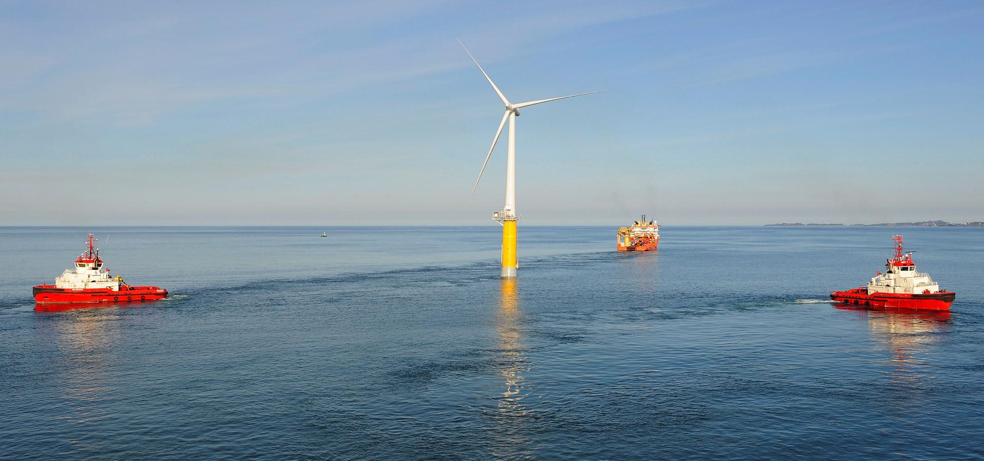 Flytende vindmølle til havs