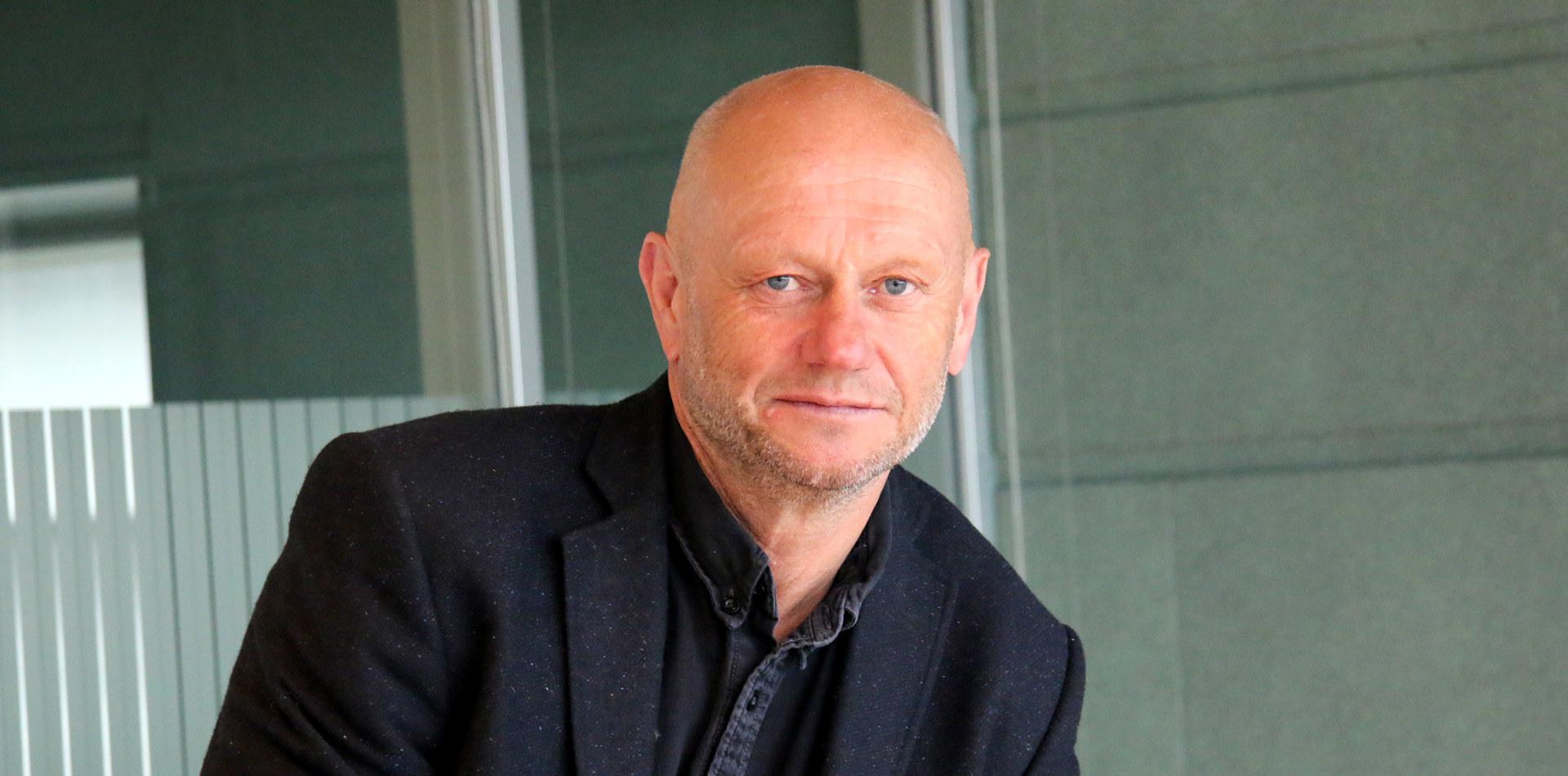 Adm. direktør Stein Lier-Hansen i Norsk Industri