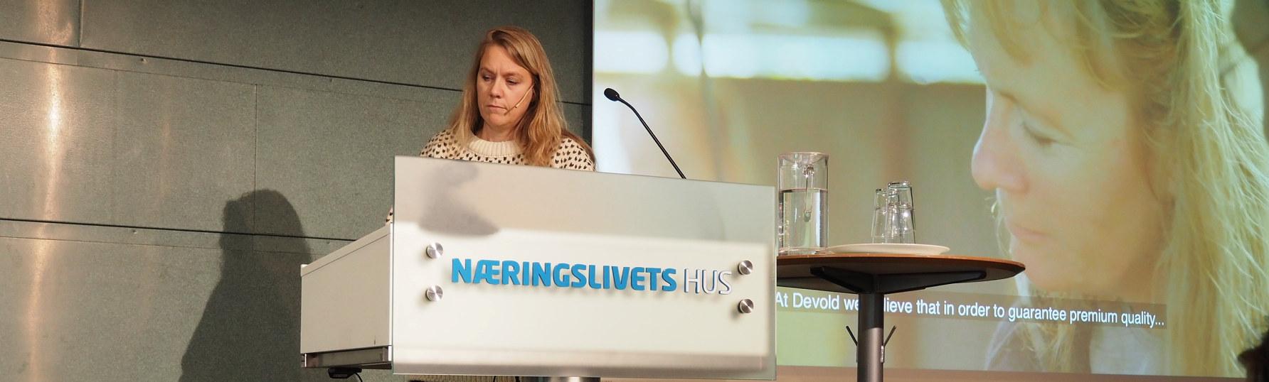 Markedsdirektør i Devold Gro Elisabeth Naalsund