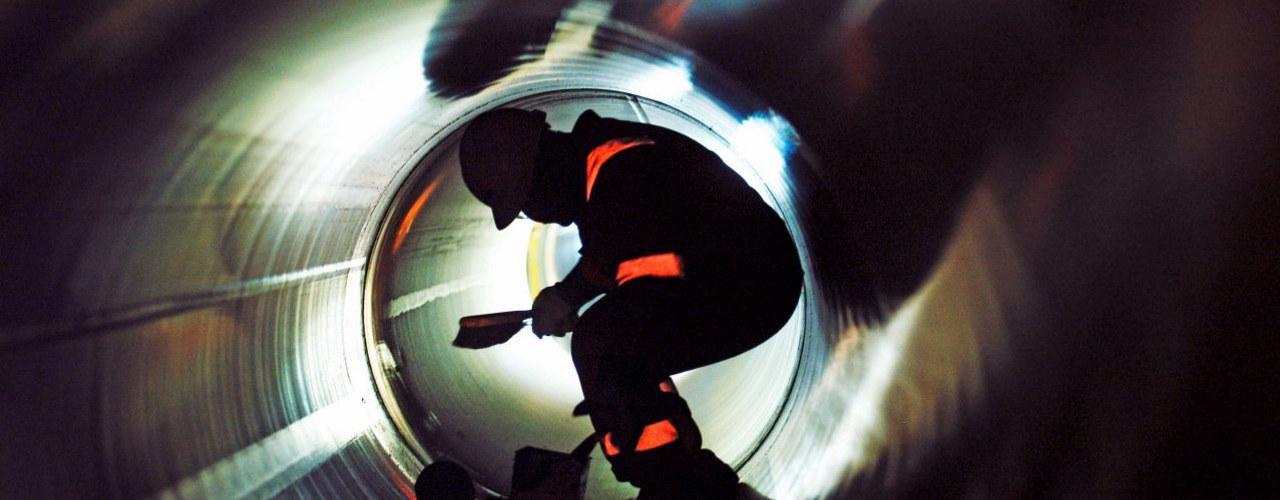Inspeksjon av installasjoner offshore. Foto: Marit Hommedal, Equinor