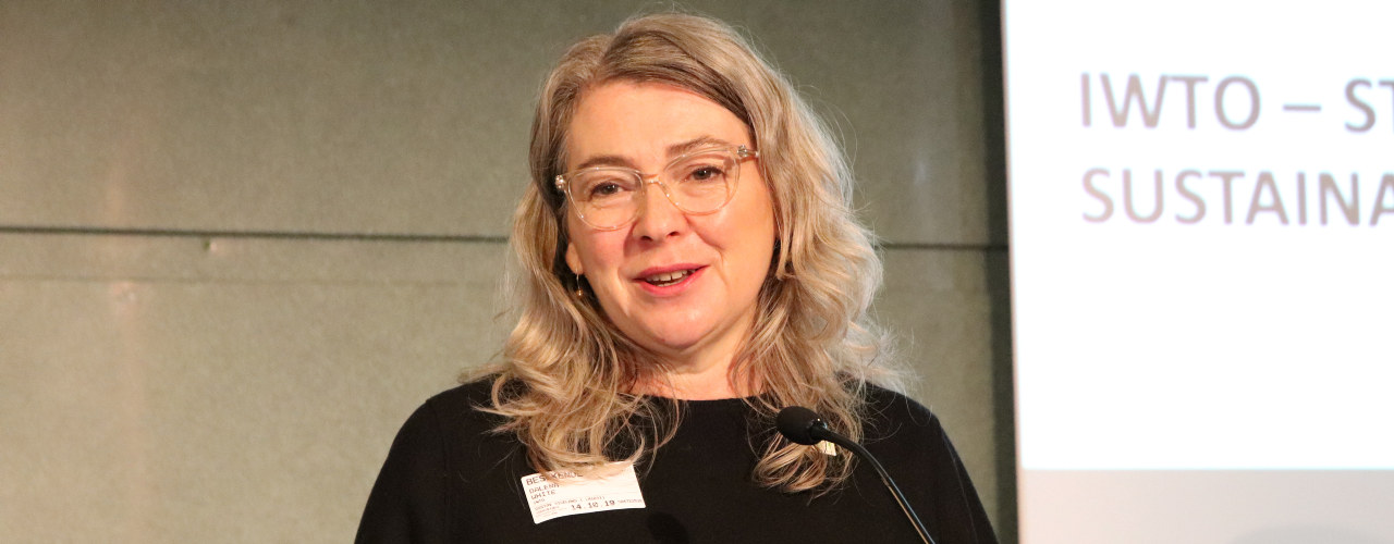 Dalena White, generalsekretær i IWTO