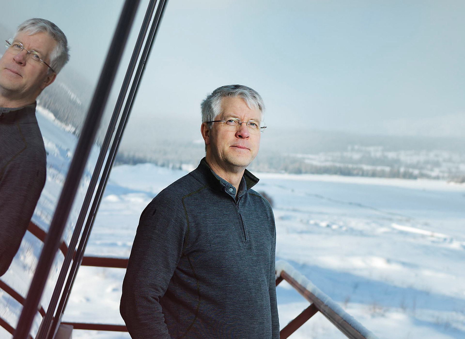 Prosjektleder Ole Emil Halden i Yeti. Foto: Robin Aron / Yeti