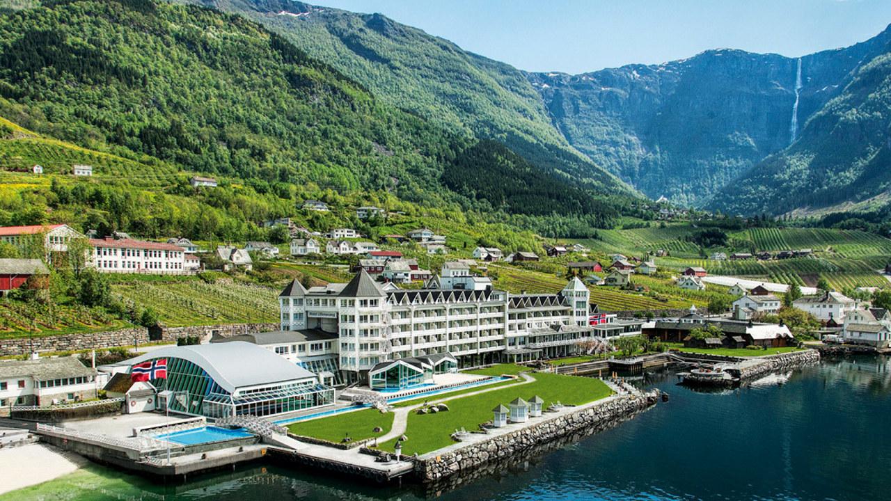 Hotel Ullensvang i Lofthus, Hardanger