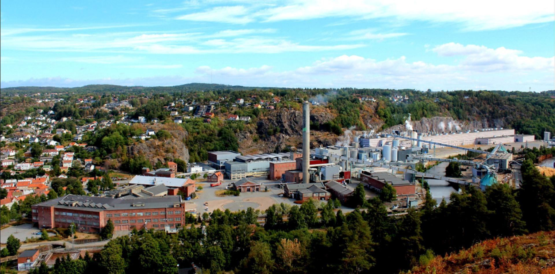 Norske Skog Saugbrugs. Foto: Norske Skog