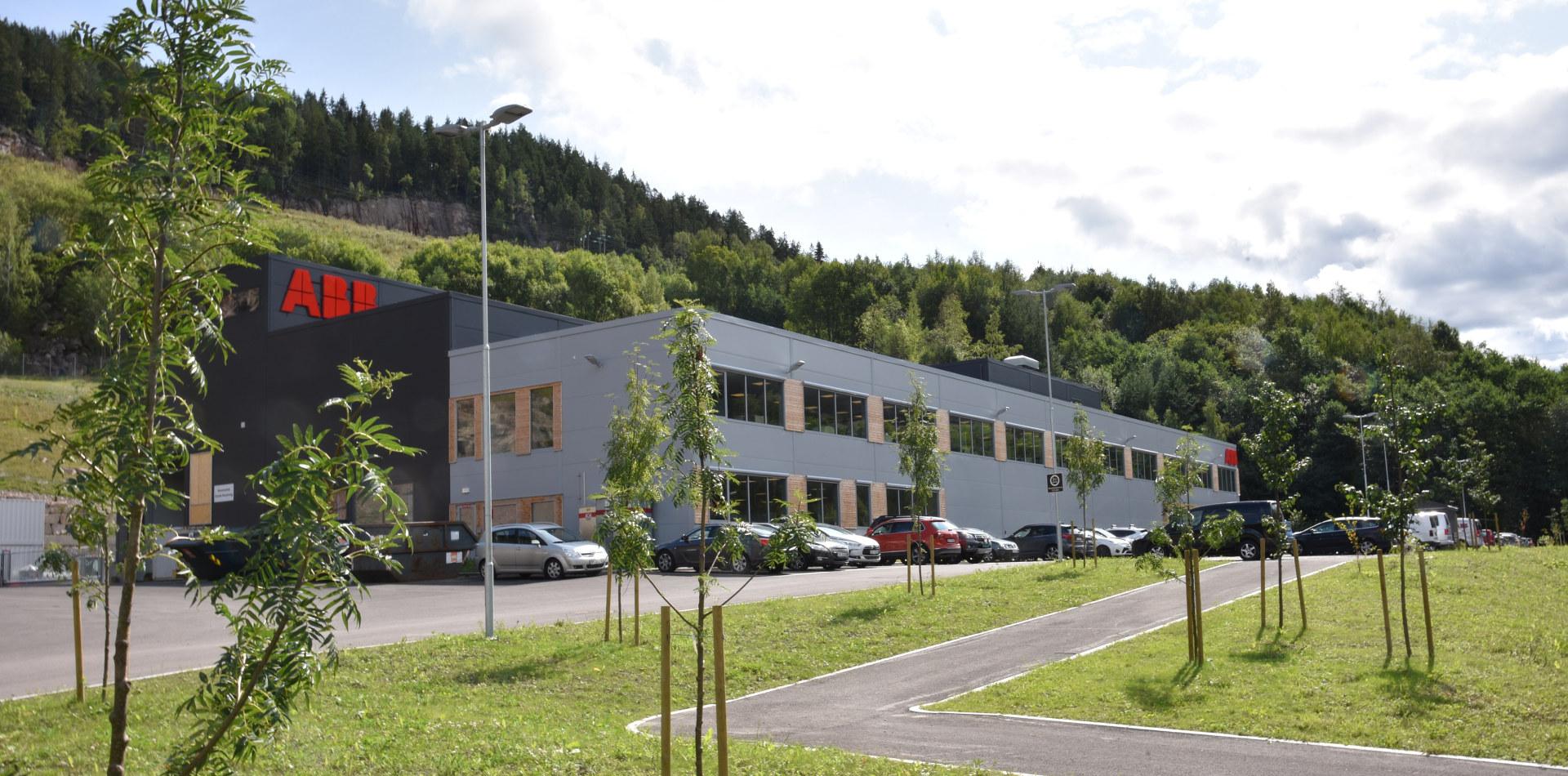 ABBs nye servicesenter i Drammen