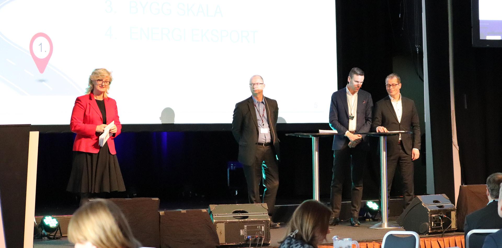Presentasjon på konferanse