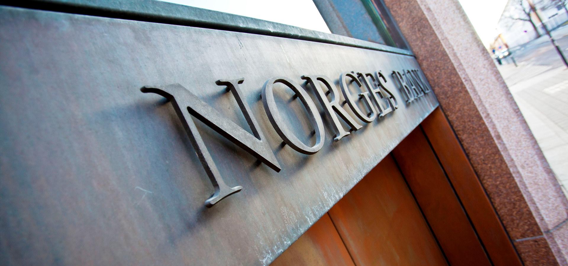 Norges Bank fasade