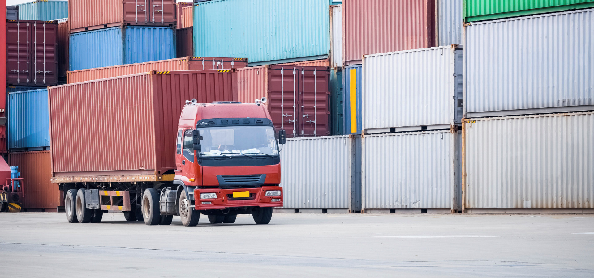 Eksport, container