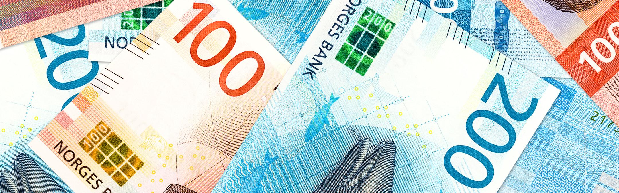 Norske penger i 2020