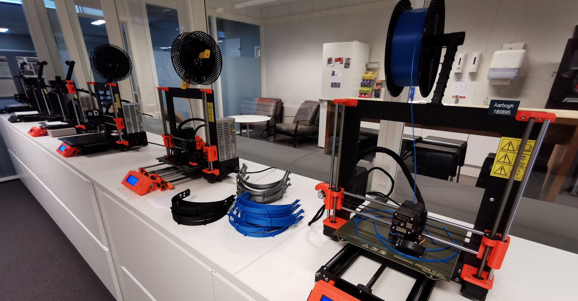 3D-printing av vernemasker