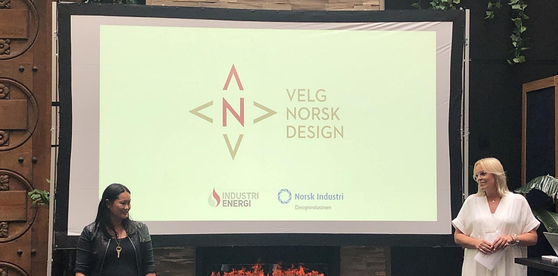 Lansering av Velg Norsk Design 8. juni 2020