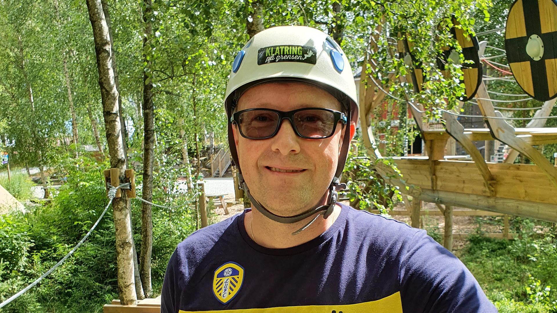 Jan Tore Gunnarsen, daglig leder i Norske Vaskeriers Kvalitetstilsyn (NVK). Foto: privat