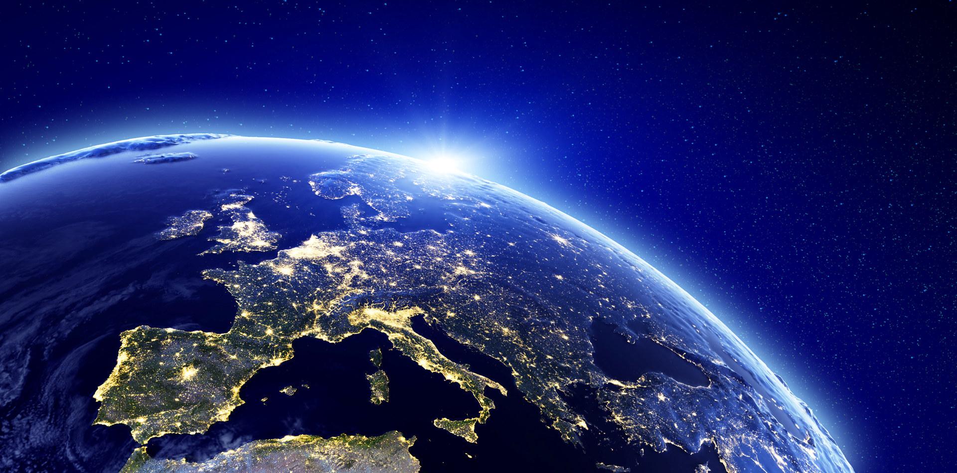 Europa sett fra rommet