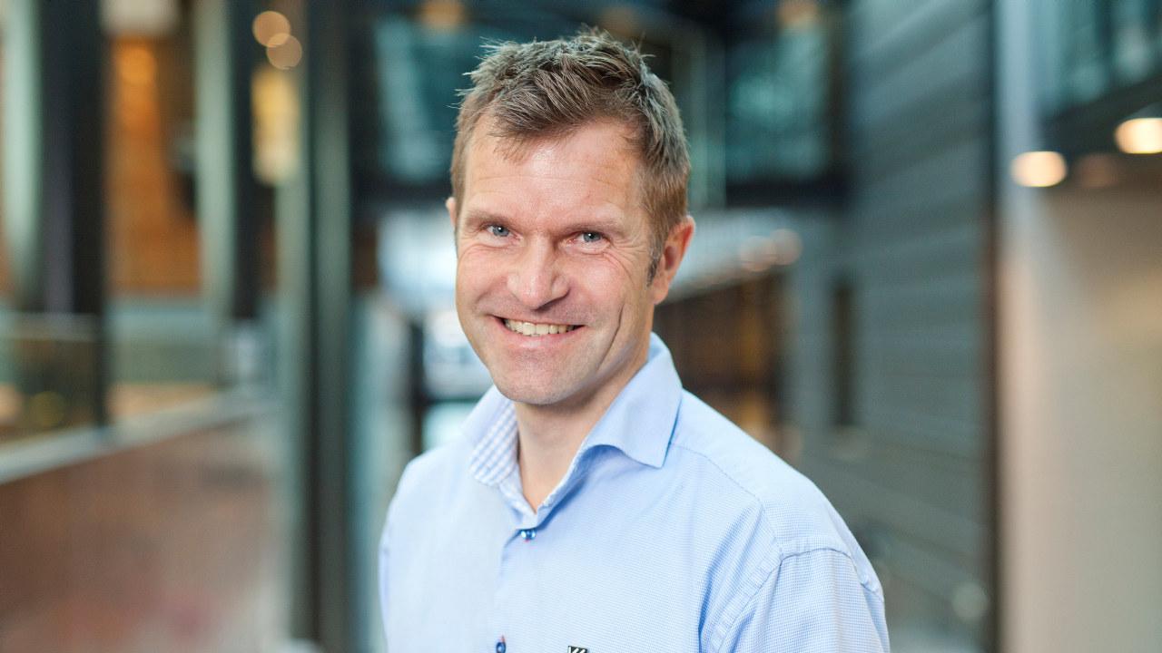 NY DAGLIG LEDER: Bjørnar Valstad ser frem til å starte i jobben i WorldSkills Norway.