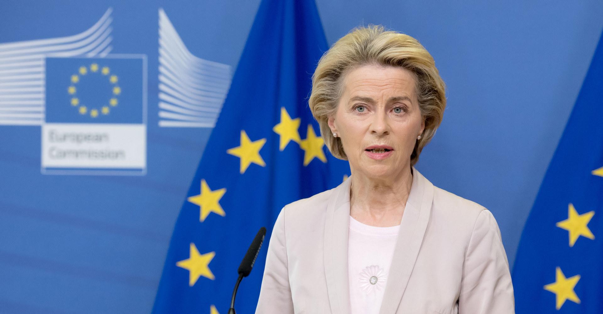 Europa-kommisjonens president Ursula van der Leyen