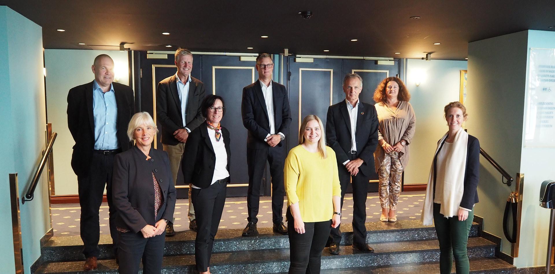 Medlemmer i prosjektstyret for havvindsatsing