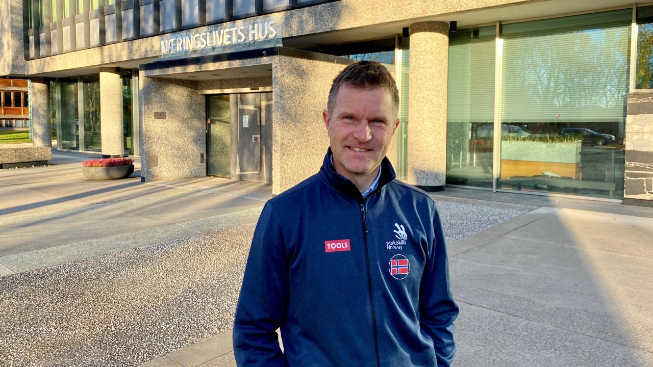 Bjørnar Valstad, daglig leder i WorldSkills Norway.