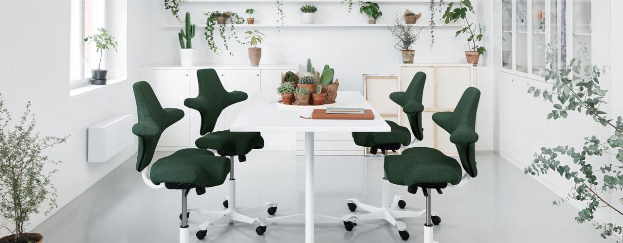 Capisco-stol fra Flokk/Håg