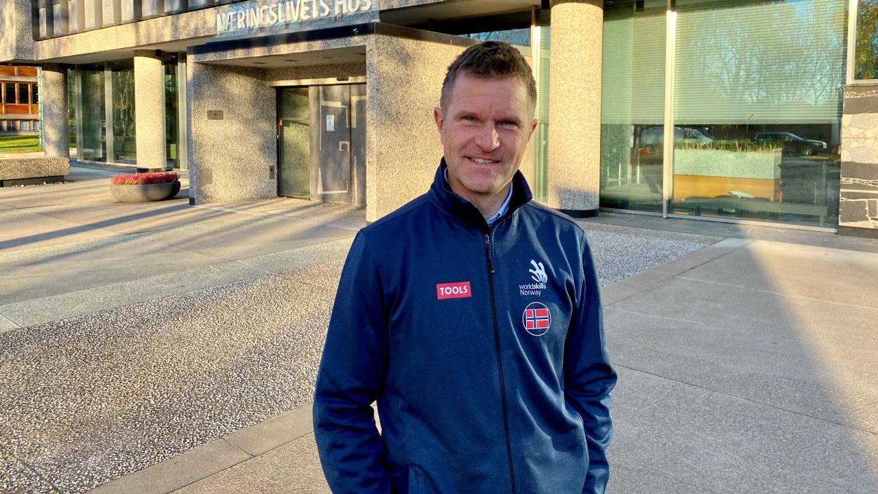 Bjørnar Valstad, daglig leder i WorldSkills Norway blir jurymedlem for den årlige prisutdelingen Norges Hyggeligste Håndverker.