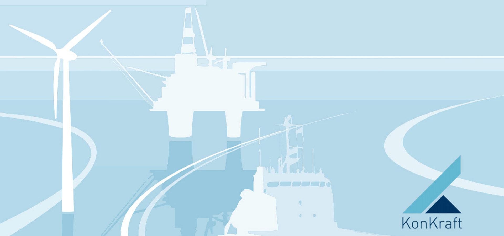"""Forside på rapporten """"Framtidens energinæring på norsk sokkel. Klimastrategi mot 2030 og 2050. Statusrapport 2021"""""""