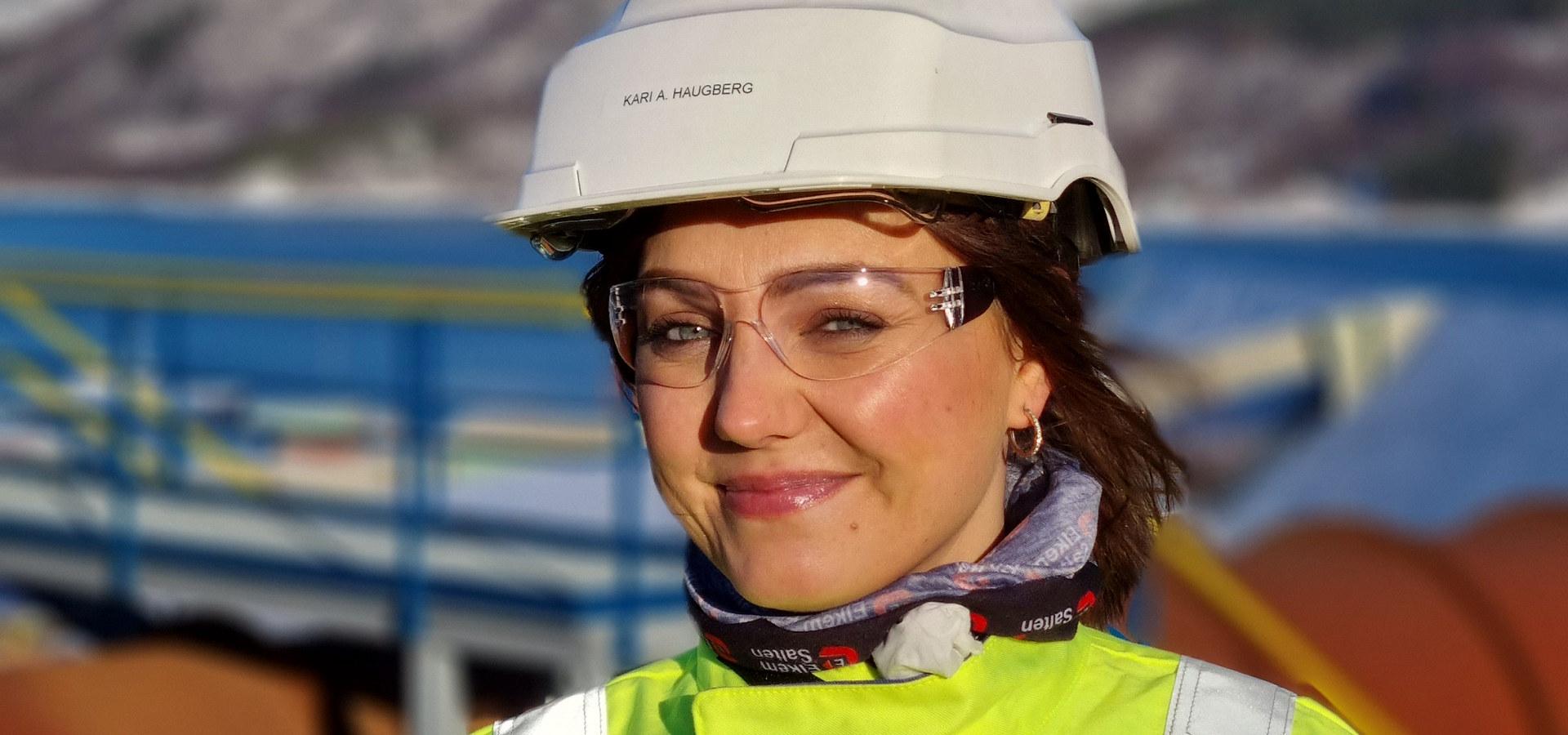 Kari Haugberg, HR-rådgiver og opplæringsleder hos Elkem Salten Verk. Foto: Elkem