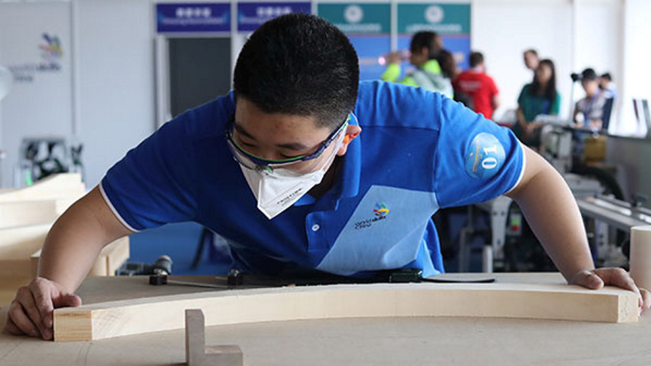 Neste Yrkes-VM blir arrangert i Shanghai, Kina i 2022