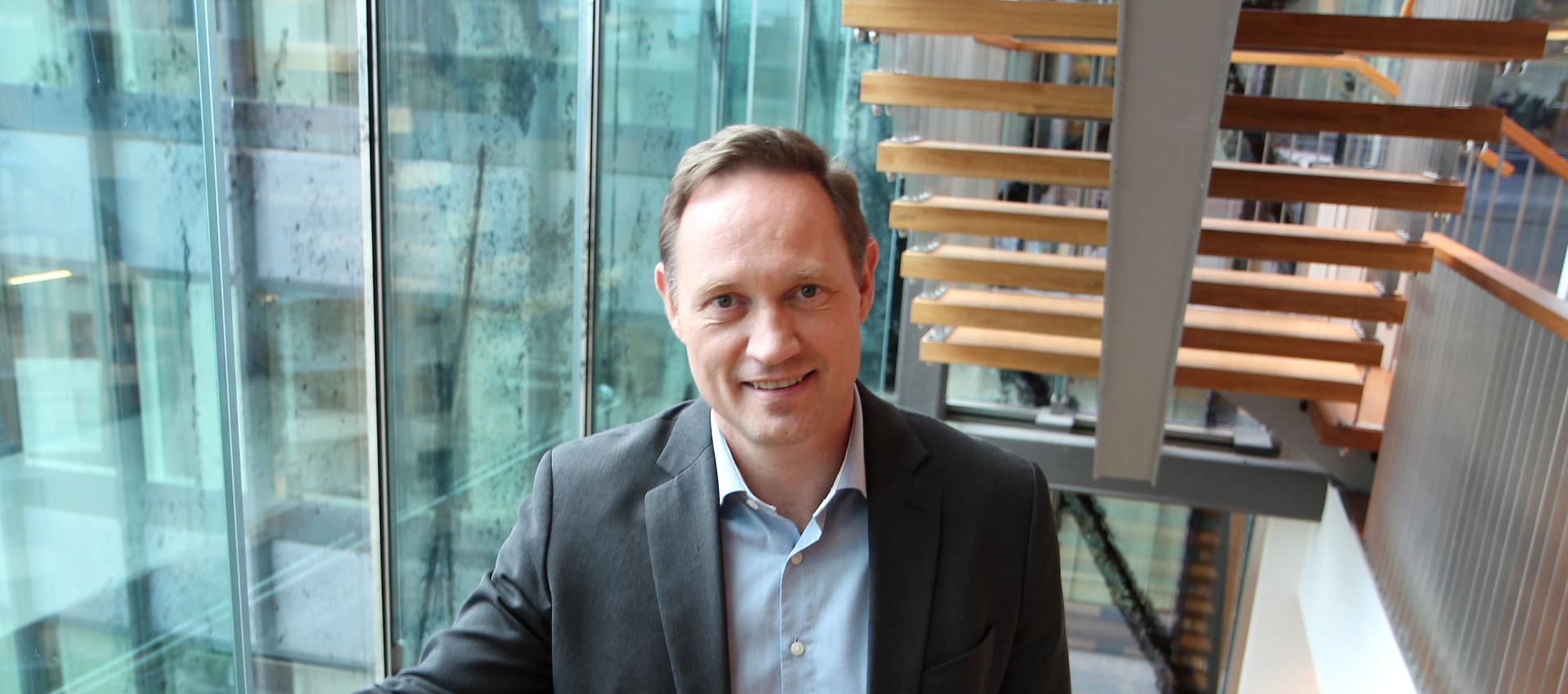 Fagsjef Stål Heggelund i Norsk Industri.
