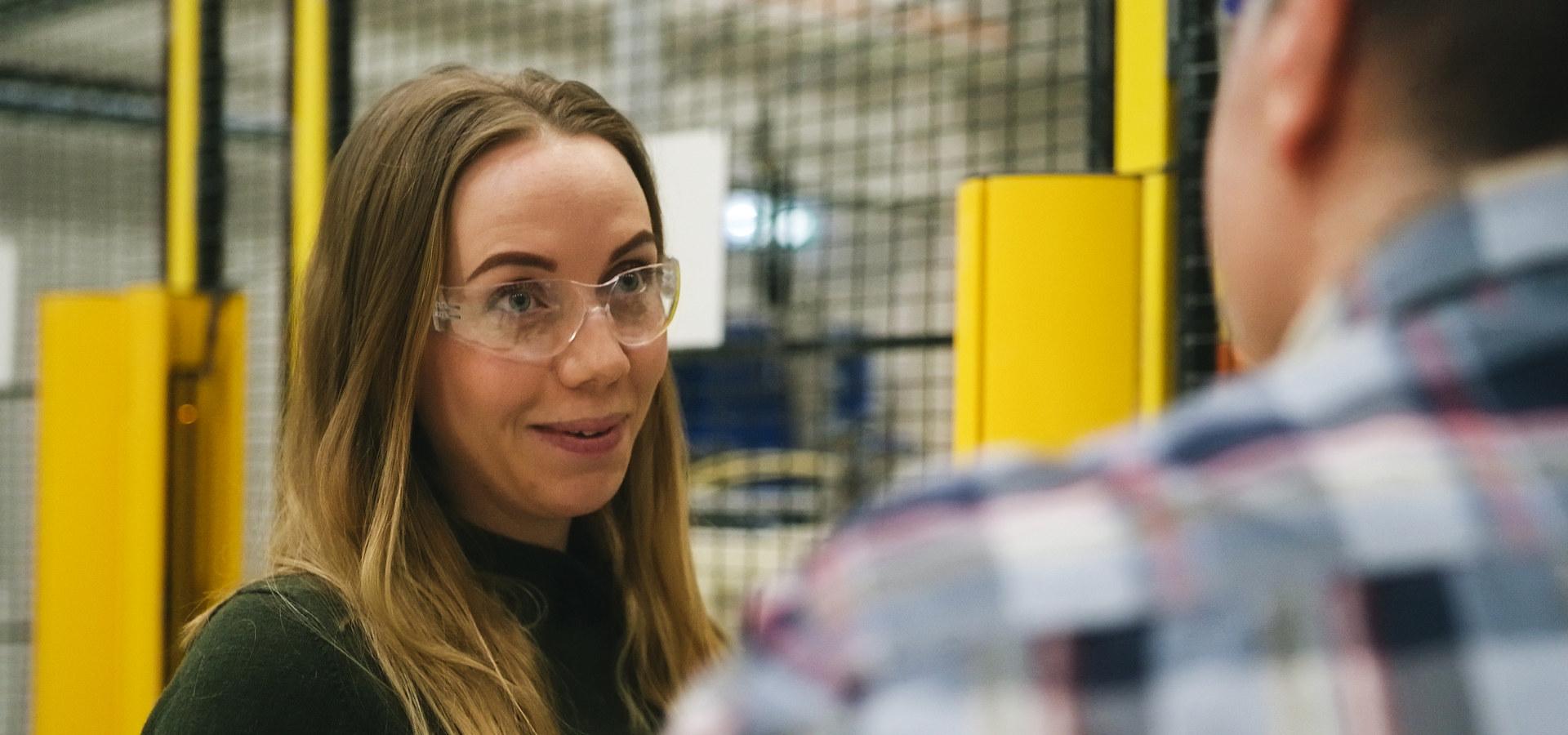 Hanne Rygg leder Teknologi i Offshore Marine Center i Siemens Energy. Foto: Siemens