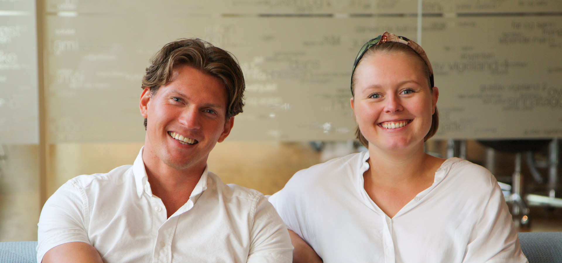 Designstipend 2019. Tobias Berg og Vilde Hagelund.