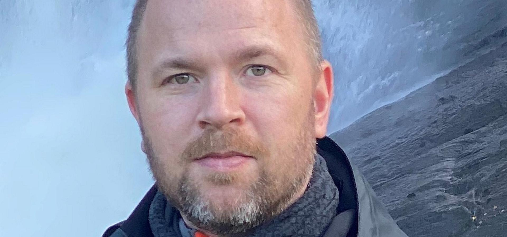 Kristian Henriksen, ingeniør og leder for robotisering og teknologi i Beerenberg Services. Foto: privat